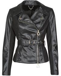 Marciano Leren Jas Biker Jacket - Zwart