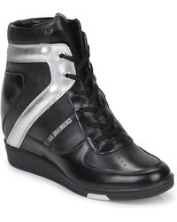 Bikkembergs Jodie 2 Shoes (high-top Trainers) - Black