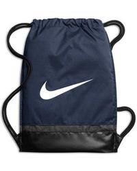 Nike Brasilia Gymsack Navy Sac à dos - Bleu