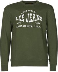 Lee Jeans LOGO CREW SWS WINTER GREEN Sweat-shirt - Vert