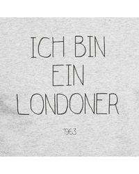 Civissum I bin ein LONDONER Tee / classic T-shirt - Gris
