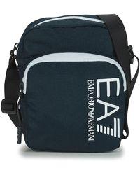 EA7 Handtasje Train Core U Pouch Bag Small A - Blauw