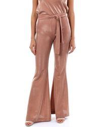 D. EXTERIOR 50644 Pantalon - Rose