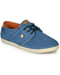 Faguo Lage Sneakers Cypress - Blauw