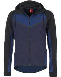 4619531041fd Nike Sportswear Tech Fleece Destroyer Sweatshirt in Gray for Men - Lyst
