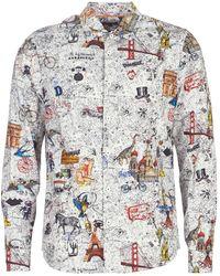 Desigual Overhemd Lange Mouw Zacarias - Meerkleurig