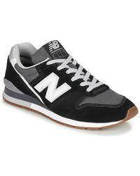 New Balance Lage Sneakers 996 - Zwart