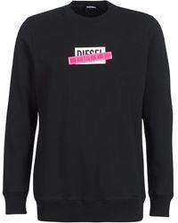 DIESEL Sweater S Gir Die - Zwart