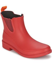 Swims - Dora Boot Women's Wellington Boots In Red - Lyst