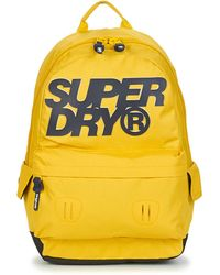 Superdry Rugzak High Build Lineman Montana - Geel