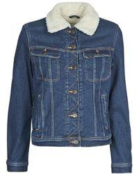 Lee Jeans SHERPA RIDER DARK SIDNEY - Azul