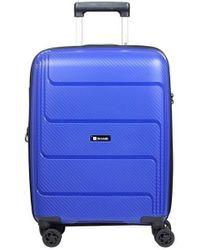 Słoń Torbalski 040211k03 Hard Suitcase - Blue
