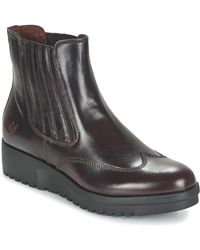 Marc O'polo - Flomina Women's Mid Boots In Red - Lyst