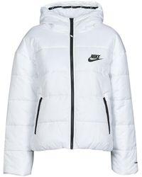 Nike Donsjas W Nsw Tf Rpl Classic Hd Jkt - Wit