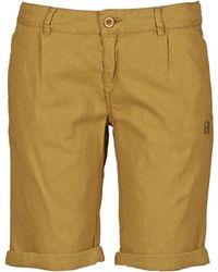 Oxbow - Vocher Women's Shorts In Brown - Lyst