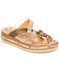 Think! - Pilota Women's Flip Flops / Sandals (shoes) In Multicolour - Lyst