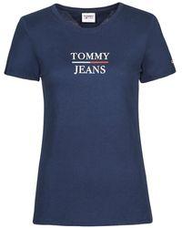 Tommy Hilfiger T-Shirt Tjw Skinny Essential Tommy T Ss - Blu
