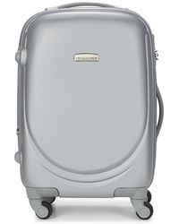 David Jones - Martas Women's Hard Suitcase In Silver - Lyst