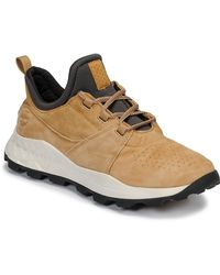 Timberland Lage Sneakers Brooklyn Lace Oxford - Naturel