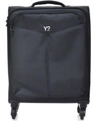Y Not? ? L-9001 Soft Suitcase - Black