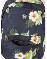 DC Shoes Backstack Print - 18.5 Litre Backpack Default Backpack - Black