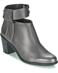 Miista Low Boots Odele - Metallic
