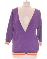 CKS Gilet Femme 36 - T1 - S Gilet - Violet