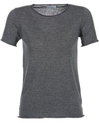 Casual Attitude T-shirt Korte Mouw Genius - Grijs
