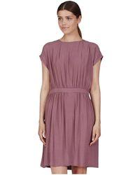 Minimum LINETTA Robe - Violet