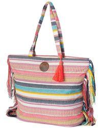 Rip Curl   Standard Tote Chela Bag Lsbig1 3282 Women's Handbags In Multicolour   Lyst