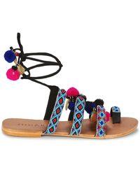 Jonak JALO femmes Sandales en Multicolor - Bleu