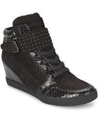 Kennel & Schmenger Hoge Sneakers Marol - Zwart