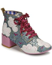 Irregular Choice Botines HEAD IN THE CLOUDS - Rosa