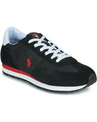 Polo Ralph Lauren Lage Sneakers Train 85-sneakers-athletic Shoe - Zwart
