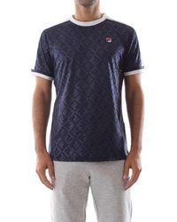 Fila T-shirt 684393 MARC SOCCER - Bleu