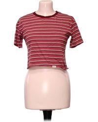 Pull&Bear Top manches courtes - S Blouses - Rouge