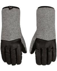 Salewa Rękawiczki Sarner Wool 26811-0531 Women's Gloves In Grey - Gray