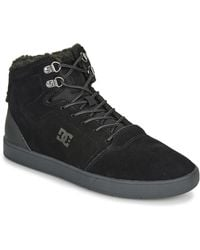 DC Shoes Hoge Sneakers Crisis High Wnt - Zwart