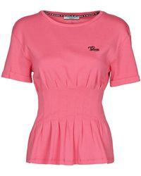Guess SS CN ALYSSA TEE T-shirt - Rose