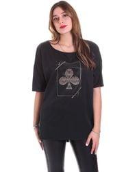Jijil T-shirt Korte Mouw JPI19BL495 - Noir
