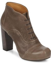 Coclico - Lillian Women's Low Ankle Boots In Brown - Lyst