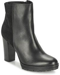 Nome Footwear CLAQUANTE femmes Bottines en Noir