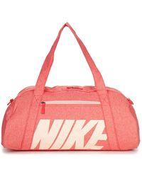 Nike Sporttas Women's Gym Club Training Duffel Bag - Roze