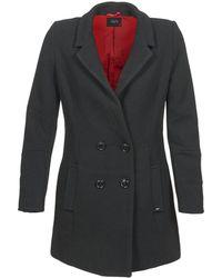 School Rag - Meirie Women's Coat In Black - Lyst