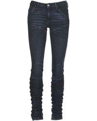 G-Star RAW Skinny Jeans 5620 Staq 3d Mid Skinny Wmn - Blauw