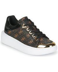 Guess Lage Sneakers Brandyn - Bruin