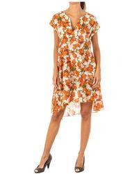 La Martina Vestido Vestido - Naranja