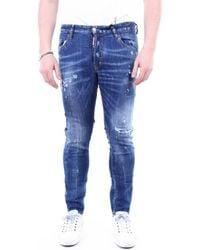 DSquared² Skinny Jeans S71lb0774s30342 - Blauw