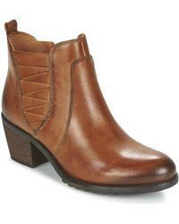 Pikolinos - Andorra 913 Women's Low Ankle Boots In Brown - Lyst