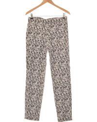 H&M Pantalon Slim Femme 40 - T3 - L Pantalon - Gris